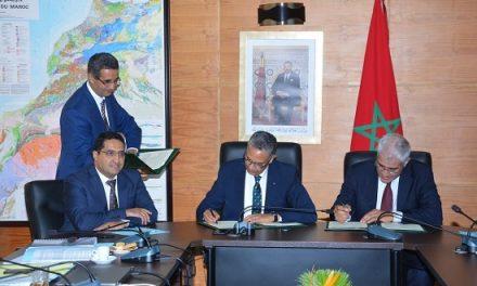 Signature d'un protocole d'Accord dans le domaine du gaz naturel entre l'ONEE et la société Sound Energy