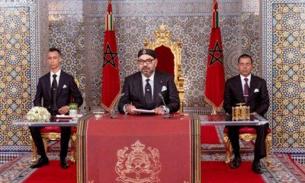Anniversaire de la Marche Verte: le Roi Mohammed VI a  adressé un Discours à la Nation
