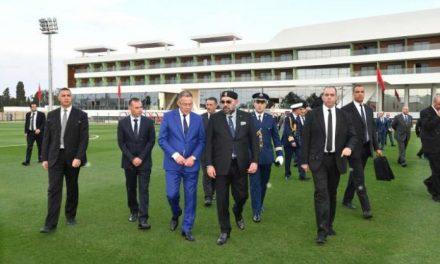 le Roi inaugure le Complexe Mohammed VI de Football, une structure intégrée dédiée à la performance et à l'excellence