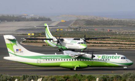 Plus de 4 millions de passagers en 2019 au bord de Binter Canarias