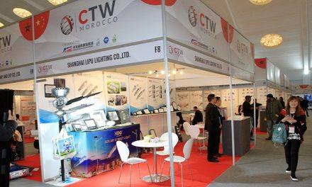 "Inauguration du 3ème salon ""China Trade Week"" Morocco"