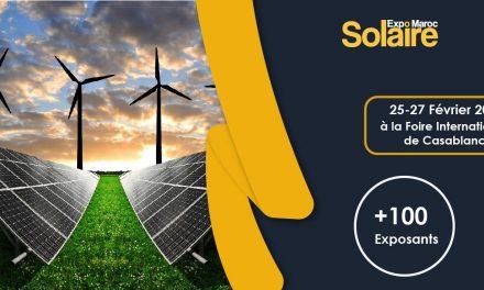 rendez-vous avec Solaire Expo maroc en février 2020