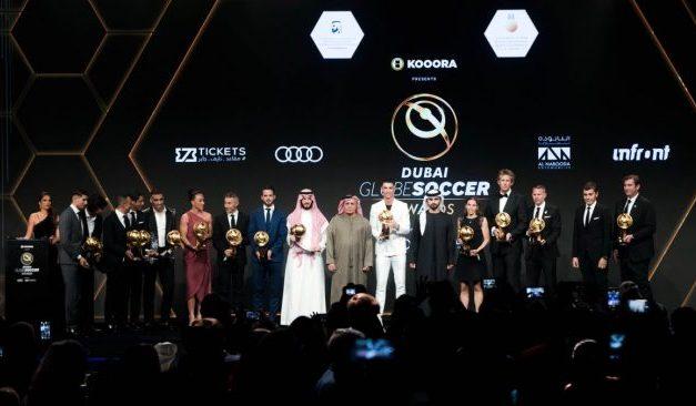 LES MAROCAINS Hamdallah et Hakimi primés lors de la 11ème édition de Globe Soccer Awards