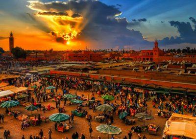 3 visites incontournables a marrakech: la Majorelle au palais de la Bahia, sans oublier place Jemaa El-Fna