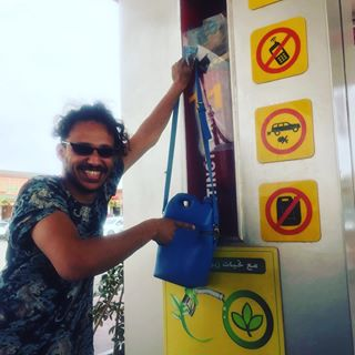 L'insolite sac bidon du créateur marocain Zakaria Bendriouich 1