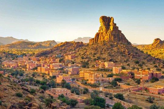 La Nasa publie une nouvelle image colorée des montagnes de l'Anti-Atlas
