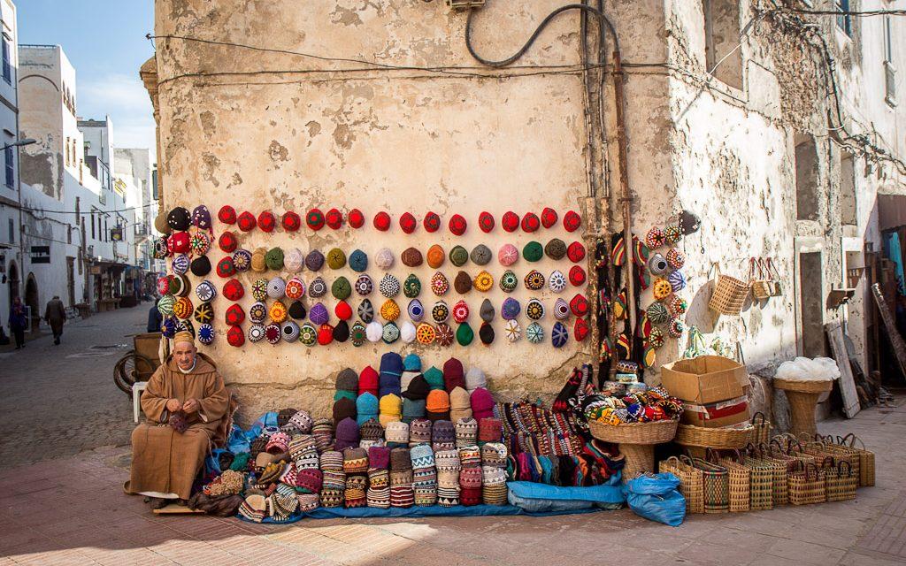 Le Roi visite l'ancienne médina d'Essaouira en plein travaux de réhabilitation