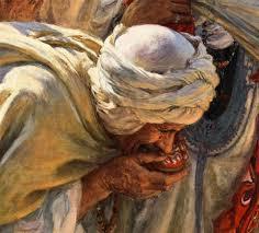 """la toile d'Etienne Dinet """"Le fils d'un Saint Mrabeth"""" bat le record d'enchères au Maroc 4"""