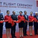 RAM INAUGURE la ligne aérienne Casablanca-Pékin