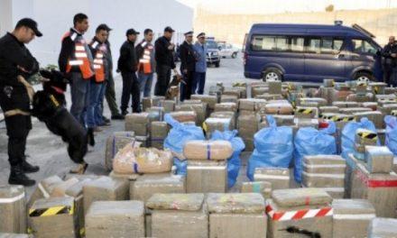 Saisie record de drogue dans le nord du Maroc: 16,2 tonnes de haschich En partance pour l'Europe
