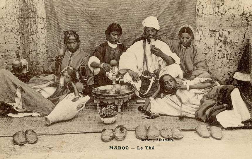 Le Maroc, champion du monde de buveurs de thé 1