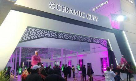"""""""AMABAY CERAMIC CITY"""" ouvre ses portes à Casablanca EN PRÉSENCE DE PLUSIEURS STARS !"""