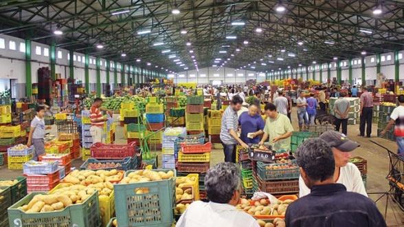 Marché de gros de fruits et légumes de Casablanca BAT LE RECORD DES RECETTES DE 2019