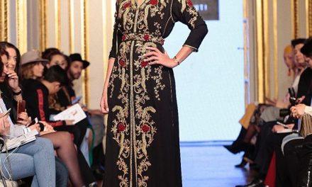 Le caftan marocain brille et fait fureur à l'Oriental Fashion Show à Paris