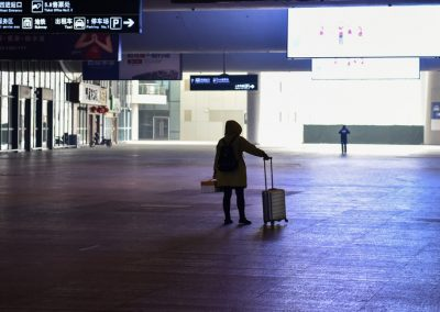 Wuhan: vol au-dessus de ville fantôme