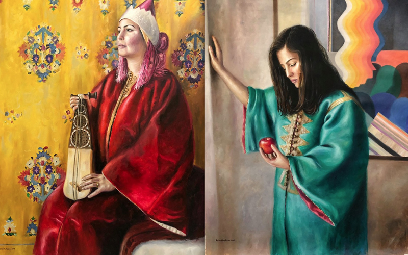 Faissal Ben Kiran à Medina Art Gallery: célèbre les femmes