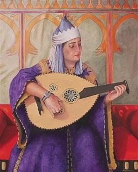 Faissal Ben Kiran à Medina Art Gallery: célèbre les femmes 1