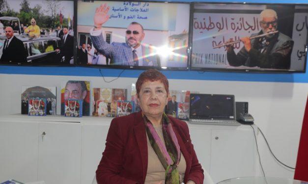 """Rachida Benmessaoud: """"faire jaillir la langue"""" pour briser la domination du masculin sur le féminin"""