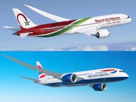 Royal Air Maroc et British Airways partagent leurs codes