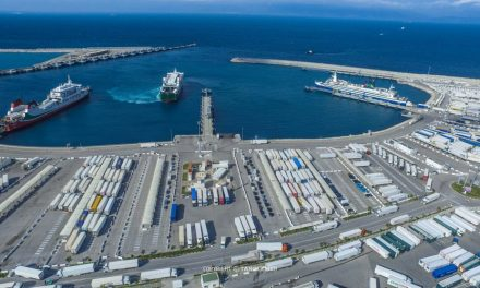 TangerMed 2: 1er million d'EVP traités pour APM Terminals