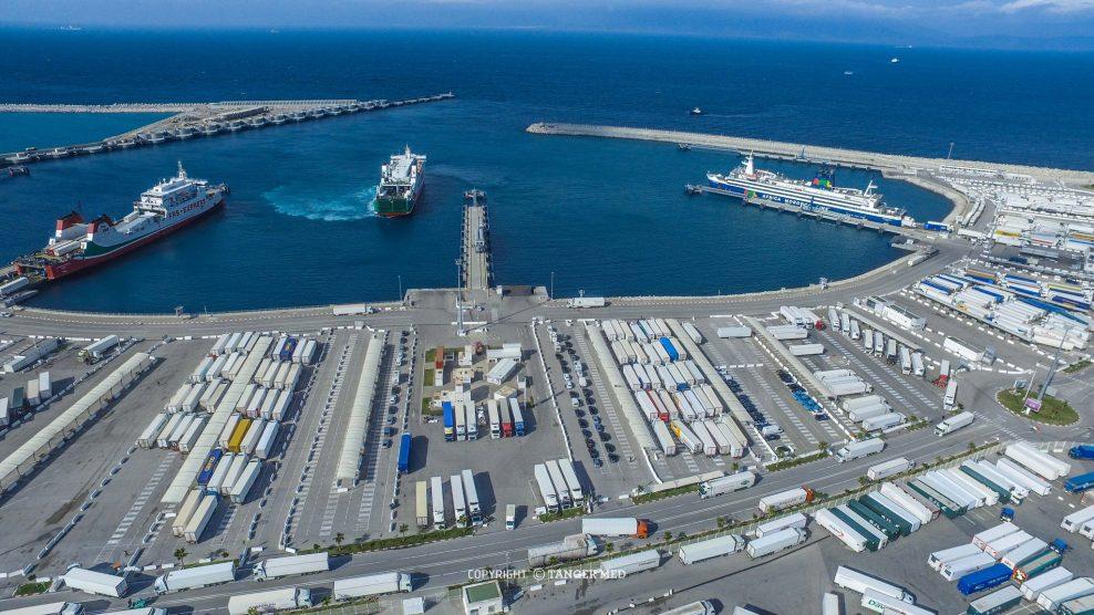 TangerMed 2: 1er million d'EVP traités pour APM Terminals