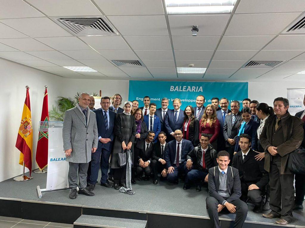 Baleària présente son projet de formation des jeunes marocains à Tanger 1
