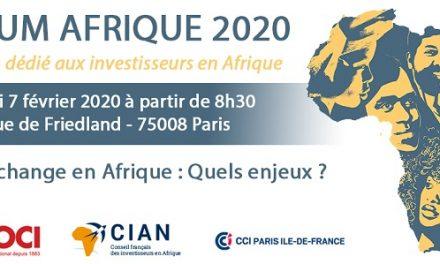 LE MAROC PARTICIPE AU FORUM AFRIQUE 2020
