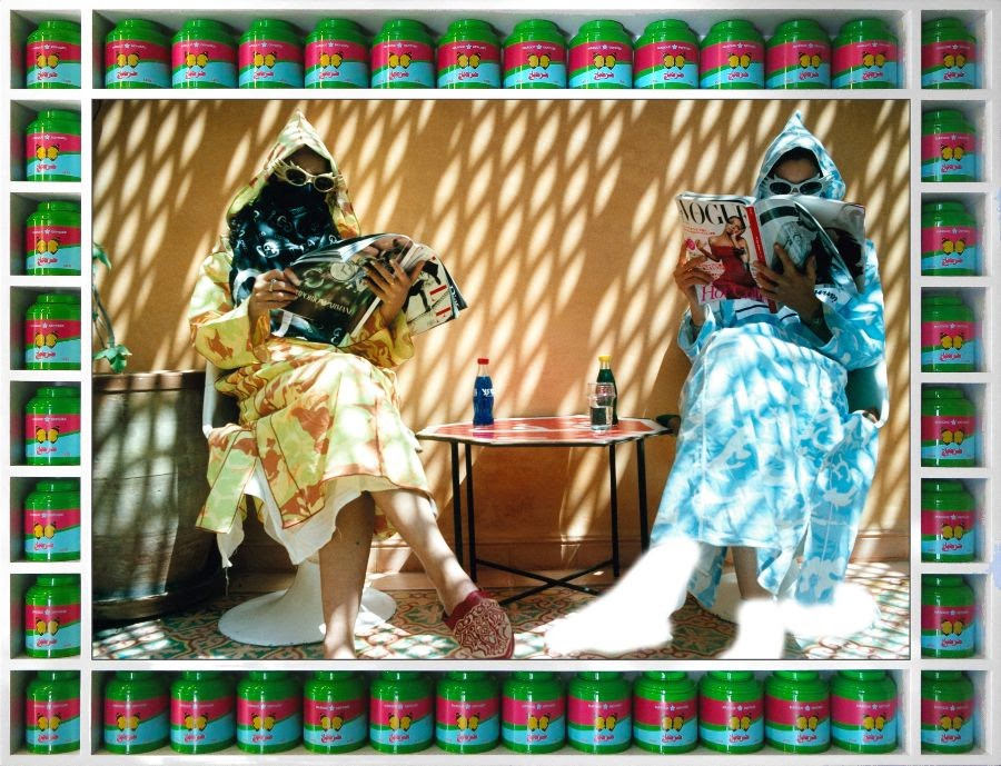 Hassan Hajjaj signe la couverture de Vogue Magazine avec Billie Eilish 3