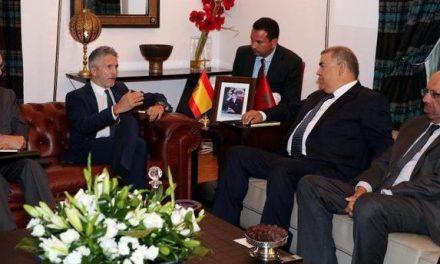 marlaska salue la coopération avec le Maroc en dans la lutte contre l'immigration et le terrorisme