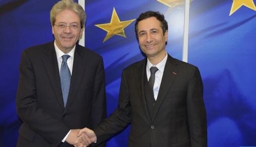 Le partenariat Maroc-UE au centre d'entretiens à Bruxelles