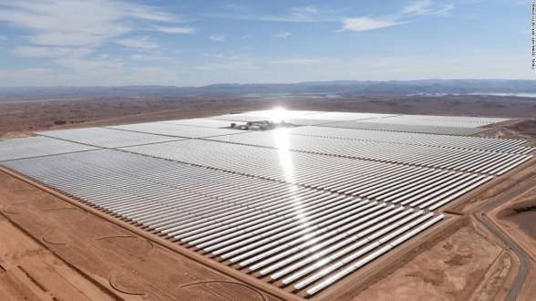 Noor 3, la plus grande tour solaire au monde qui propulse le Maroc vers le futur des énergies renouvelables 2