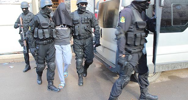 Démantèlement d'une cellule terroriste à casablanca