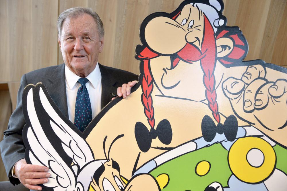 """Albert Uderzo, le dessinateur d'""""Astérix"""", est mort à l'âge de 92 ans 1"""