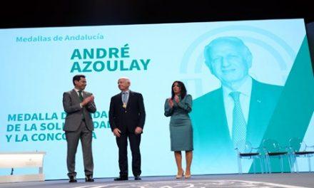 ANDRÉ AZOULAY REÇOIT LA MÉDAILLE D'OR 2020 DE L'ANDALOUSIE
