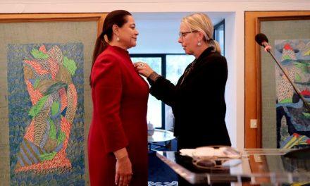 Miriem Bensalah Chaqroun reçoit la Légion d'Honneur de la République de France