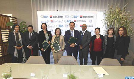 La Société Générale Maroc scelle un partenariat avec Maroc Impact et l'UH2C