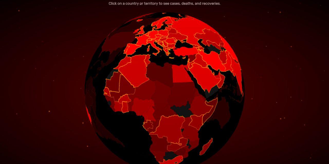 CORONAVIRUS : UNE CARTE EN TEMPS RÉEL POUR SUIVRE L'ÉVOLUTION DE L'ÉPIDÉMIE