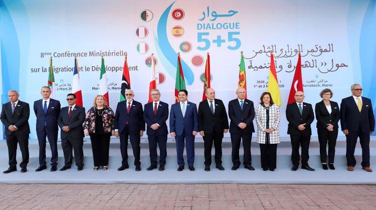 Dialogue 5+5: le maroc propose la création de réseaux nationaux de compétences sur la Migration et le Développement