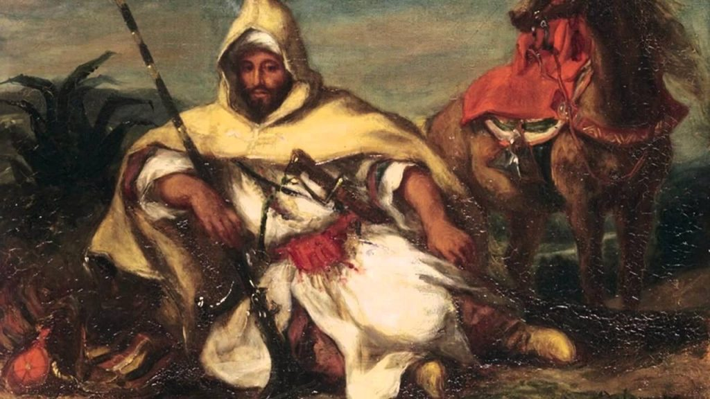 """Eugène Delacroix: L'exposition """"Souvenirs d'un voyage au Maroc"""", du 08 avril au 01 juillet à Rabat 1"""