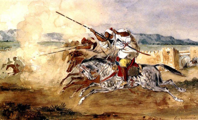 """Eugène Delacroix: L'exposition """"Souvenirs d'un voyage au Maroc"""", du 08 avril au 01 juillet à Rabat 2"""
