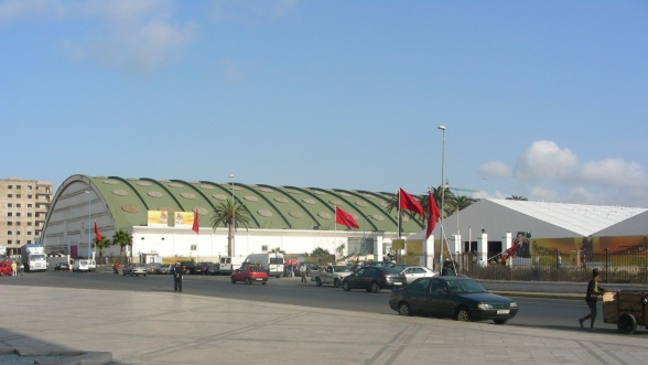 COVID-19: La foire de Casablanca transformée en hôpital de campagne