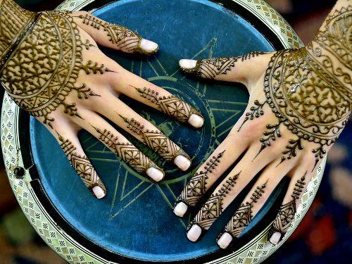 La cérémonie du henné 4
