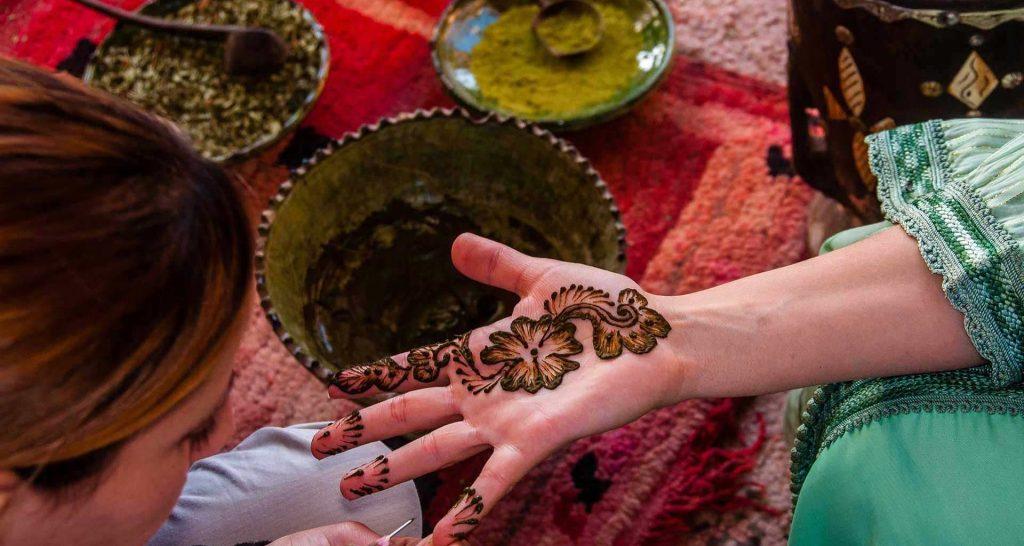 La cérémonie du henné 11
