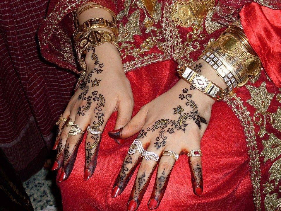 La cérémonie du henné 6