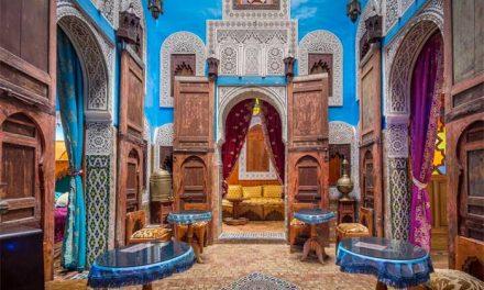 L'art des riads du Maroc
