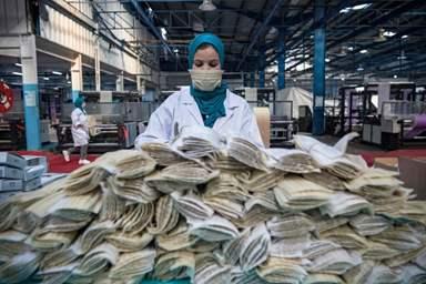 Maroc: Près de 18,5 millions de masques de protection ont été exportés vers 11 pays