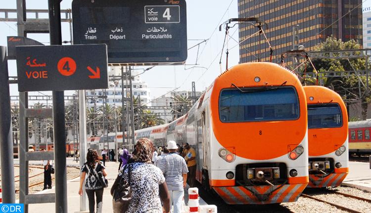 L'ONCF se mobilise pour la reprise progressive du trafic ferroviaire