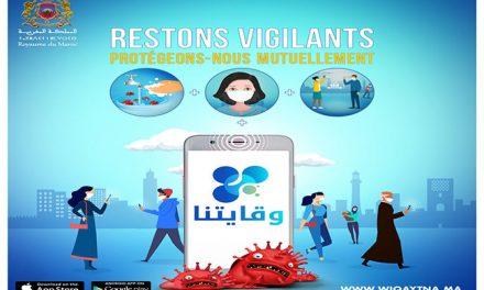 Stop Covid-19: Plus de 2 millions de téléchargements pour l'application Wiqaytna