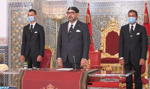 Un discours royal axé sur la crise du covid-19, 120 milliards de dirhams seront injectés dans l'économie nationale