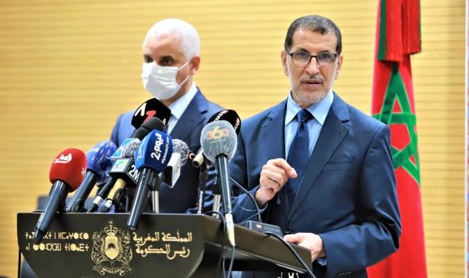 La décision d'interdire les déplacements de et vers huit villes était «difficile et cruciale» a affirmé El Otmani